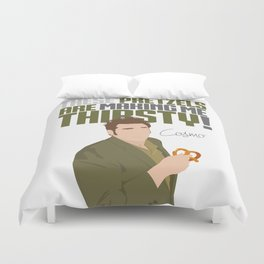 These Pretzels Are Making Me Thirsty! Duvet Cover