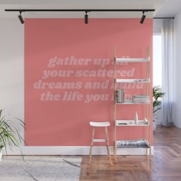 scattered dreams Wall Mural