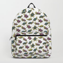 Turtles on the lake Backpack