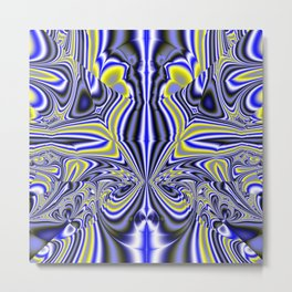 Neurotic Communique Metal Print