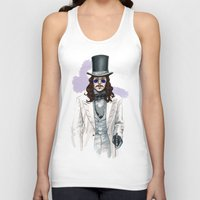 dracula Tank Tops featuring Dracula by Myrtle Quillamor