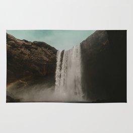 Iceland Waterfall x Skógafoss Rug