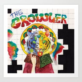 The Growler Art Print