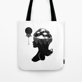 Cloudia Silhouette Tote Bag