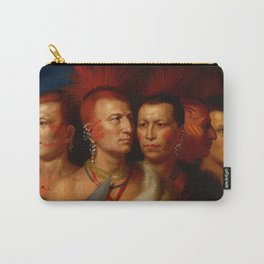 Young Omahaw, War Eagle, Little Missouri, and Pawnees Carry-All Pouch