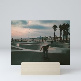 Venice Beach Skater Mini Art Print