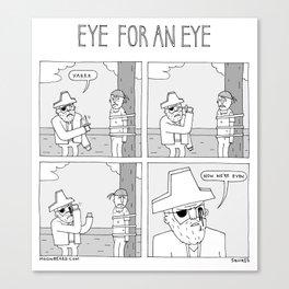 Moonbeard - Eye for an Eye Canvas Print