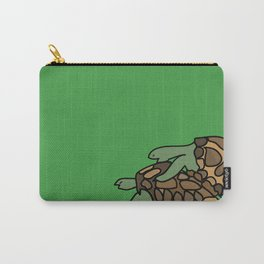 Turtle Galapagos mate love mating  Carry-All Pouch