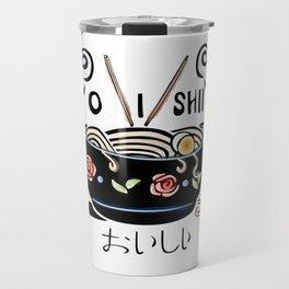 OISHII Noodle Bowl Travel Mug