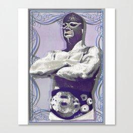 Mexican Wrestler Lucha Libre Canvas Print