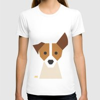 jack russell T-shirts featuring Jack Russell by Page 84 Design