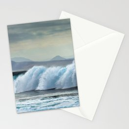 Wave Series Photograph No. 20 - The Blue Wave Stationery Cards