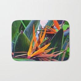 Tropical Flowers Bath Mat