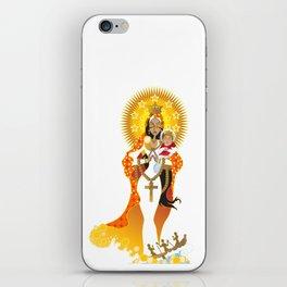 La Virgen de la Caridad del Cobre iPhone Skin