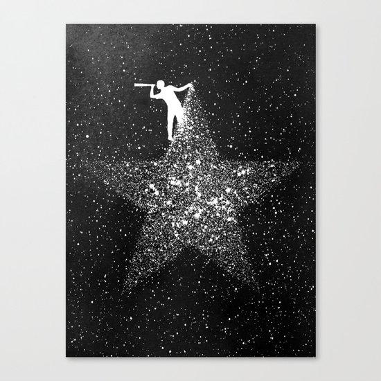 Stargazing Canvas Print