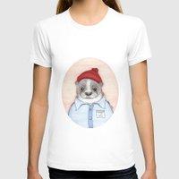 steve zissou T-shirts featuring Steve Zissou by Indi Maverick
