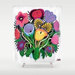 Yelapa Flowers Shower Curtain