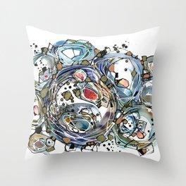 Art of Etsuko Oide Throw Pillow