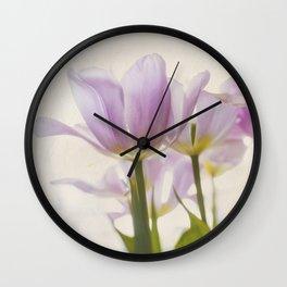 Tulip Love Wall Clock