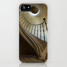When laying on the floor iPhone Case