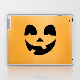 Silly Jack-O-Lantern Laptop & iPad Skin