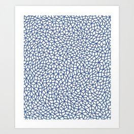 Infinity nets by Yayoi kusam Art Print