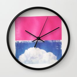 SKY/PNK Wall Clock