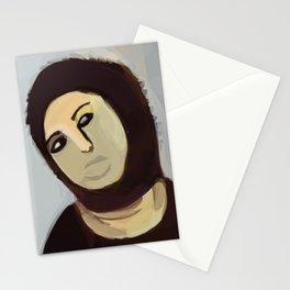 Ecce Homo jesus borja paintings Stationery Cards