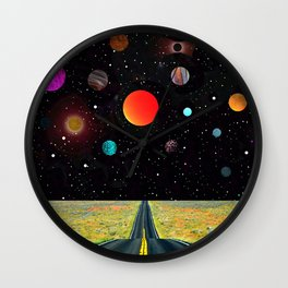 Road to the Universe Wall Clock
