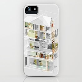 Mumbai/Toronto 1/2 iPhone Case