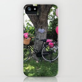 Festive Bicycle iPhone Case