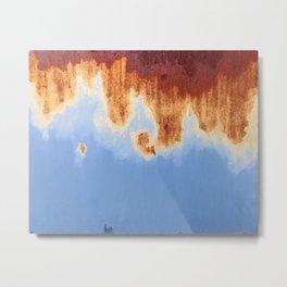 Rust n' Sky Metal Print