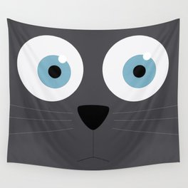 Cat eyes Wall Tapestry