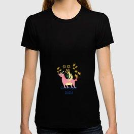 Goodnight DaDa by pink Unicorn T-shirt