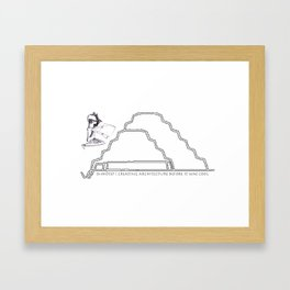 IMHOTEP  Framed Art Print