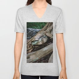 Jewel in the Wood Unisex V-Neck