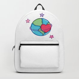 Loving my Planet Earth Day Backpack