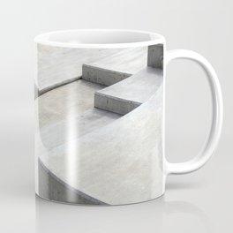 concrete geometry - modernist abstract 5 Coffee Mug
