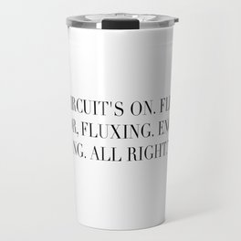 Flux Capacitator Travel Mug