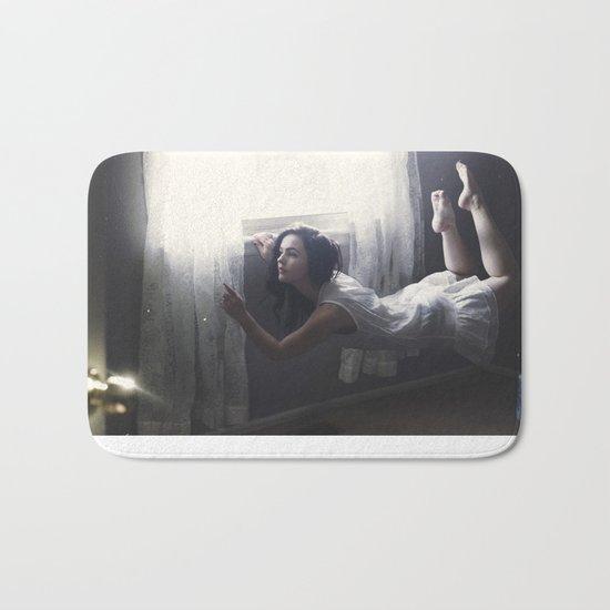 GLITTERED DREAMS Bath Mat