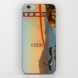 San Francisco... Part of that world. iPhone Skin