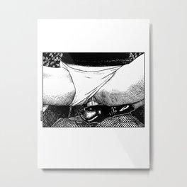 asc 499 - La bonne prise (A strong grip) Metal Print