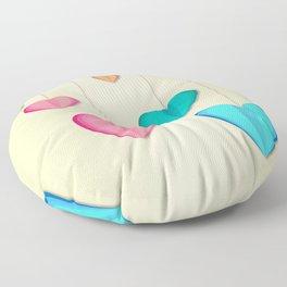 Hangin Hearts Floor Pillow