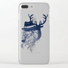 Hunter Clear iPhone Case