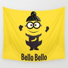Bello Singh Punjabi (Balle Balle) Minion Inspired Parody Wall Tapestry