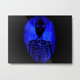 Skeleton's portal Metal Print