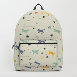 Polyhedral Dice- Wolves Backpack