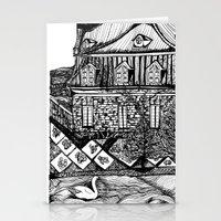 copenhagen Stationery Cards featuring Copenhagen by intermittentdreamscapes