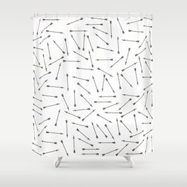 Arrow vintage pattern Shower Curtain