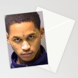 fredo Santana mugshot Stationery Cards
